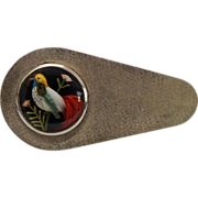 Vintage Bird Feather Sterling Silver Brooch Fine Aesthetic