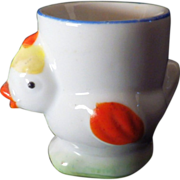 Vintage Bone China Chick Egg Cup