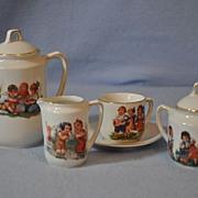 Child's Porcelain Tea/ Coffee Set