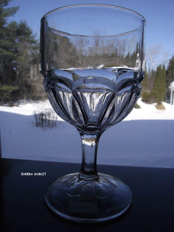 EAPG Eureka Water Goblet