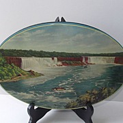 1920s Horner of England Toffee Tin Niagara Falls Scene