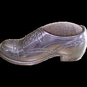 Pin Cushion C 1919  Japanese Man's Wing Tip Shoe