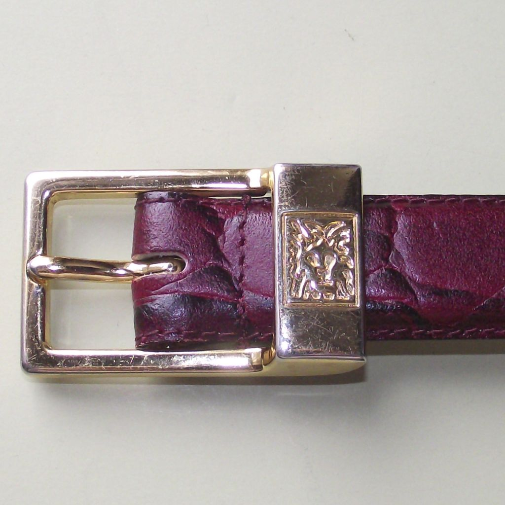 Anne Klein for Calderon Women's Leather Belt sz.M