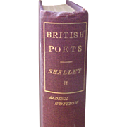 The Poetical Works of Shelley - Aldine Edition Volume II     1819