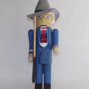 Harry S. Truman  1987 Nut Cracker by Roman  Nutcracker