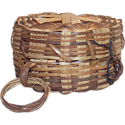 Small Thread Basket with Finger Loop