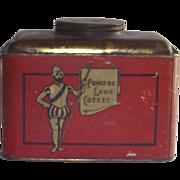 Ponce de Leon Coffee Tin
