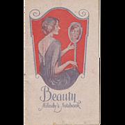 1927 - 1928 Milady's Beauty Notebook