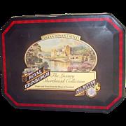 Eilean Donan Castle Scotland Tartan Biscuit Tin by Royal Edinburgh