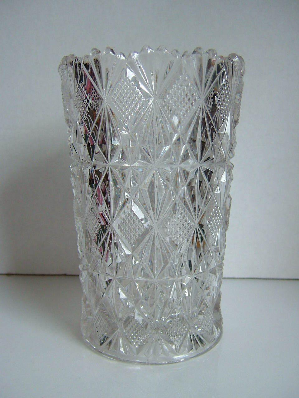 EAPG McKee Glass Celery Glass I.H.C. Pattern