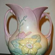 Wonderful Pastel Colored Hull Pottery Vase