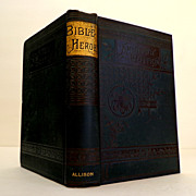 Bible Heroes.  ARUNDEL EDITION.  Boys of the Bible by H.J. Williams.  Pre-1900. Beautiful Binding.  As New Condition.