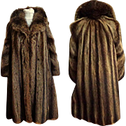 Genuine Canadian Raccoon Coat.  Large Size.  Top Quality.  Timeless Styling.  Near Mint Condit