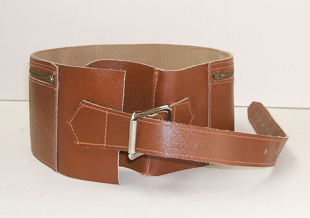 Money Belt.  Leather.  As New Condition.