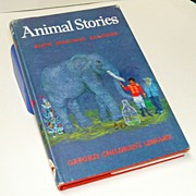 Animal Stories by Manning-Sanders.  Illustrated by Macarthur-Onslow.  1967.  Oxford University Press.  Charming!  Excellent condition.