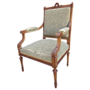Antique Furniture French Antique Chair Armchair!