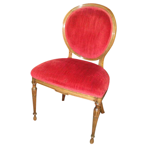 Vintage French Style Walnut Chair!