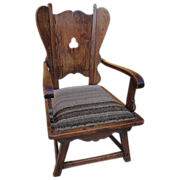 Antique Furniture Spanish Antique Carved Chair Armchair