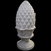 Antique Pineapple Shaped Obelisk Statuary Garden Architectural Decor