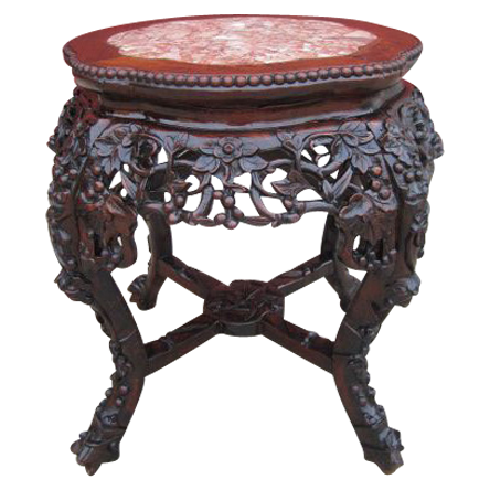 Antique Oriental Table Plant Stand Antique Furniture