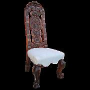 Italian Antique Throne Chair Antique Furniture