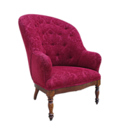 Antique Wing Back Fireside Chair  Club Chair Antique Furniture