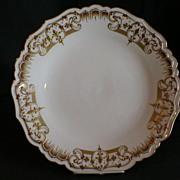 Blakeman & Henderson Limoges Gold-Encrusted Charger
