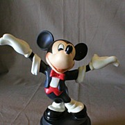 SOLD Walt Disney Classics Collection - Mickey Mouse - Bisque Sculpture