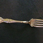 SALE 1847 Rogers Brothers Vintage Pattern Cold Meat Fork