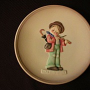 "Goebel Miniature Collectors' Plate ""Little Fiddler"" Issued 1984"