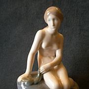 "Royal Copenhagen Figurine ""Little Mermaid"" Style #4431, Edward Ericsen, Sculptor"