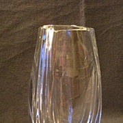 """Baccarat Crystal """"Bouton D'Or"""" or """"Buttercup"""" Vase"""