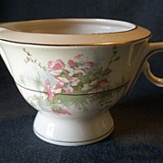 "Theodore Haviland, New York, ""Apple Blossom"" Pattern 6 Oz Creamer"