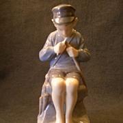 "Royal Copenhagen ""The Whittler"" or ""Shepherd Boy""  Figurine #905"
