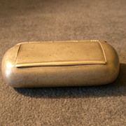 "J. M. Carlstedt ""Pewter Snuff Box"" - Rockford, Illinois"