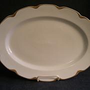 "Charles Haviland & Co. Limoges ""Silver Anniversary"" Medium Oval Serving Platter- Sch"