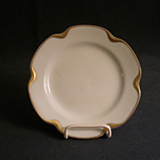 """Set of 5 - Haviland & Co. Limoges """"Silver Anniversary"""" Bread & Butter Plates - Schle"""