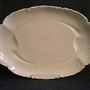"Charles Haviland & Co. Limoges ""Ranson/White"" Large Oval Serving Platter"