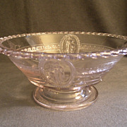 EAPG - Cupid & Venus (Guardian Angel) Round Open Fruit Bowl
