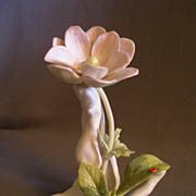 """Cybis Porcelain """"Wildflower w/Ladybug"""" Figurine"""