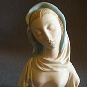 "Cybis Porcelain ""Madonna with Blue Veil"" Figurine, Model #2152"