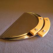 Chase Chrome Deco 2-Piece Crumb Scraper Set w/Bakelite Handles