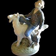 "Royal Copenhagen Figurine ""Hans Clodhopper"" #1228, Sculptured by Christian Thomsen"