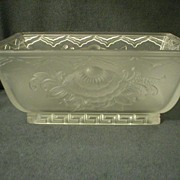 """American """"Verlys"""" Console Bowl in Floral Pattern"""