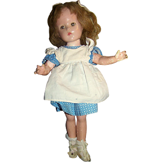 REDUCED Composition Effanbee Suzanne Marked Doll