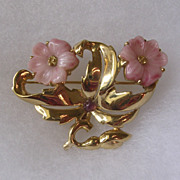 Nina Ricci Blossom Flower Brooch