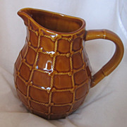 Vintage Country French Pottery Pitcher