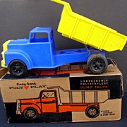 Dump Truck Toy 1950's Nice in Original Box