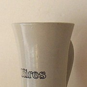 1920's Heavy Pottery Hires Root Beer Mug With Handle