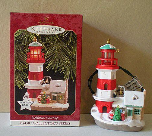 Hallmark Lighthouse Ornament 1997 1st in series